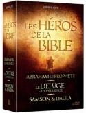 Coffret les héros de la bible : Abraham + Samson & Dalila + l'arche de Noé DVD