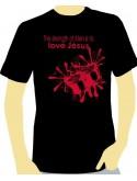 """T-Shirt """"Love Jésus"""" - Taille L"""