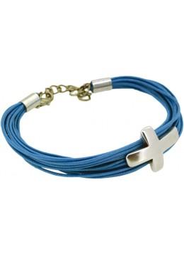 Bracelet Corde et Croix