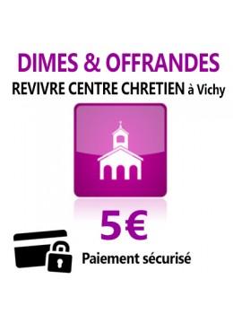 Dîmes & Offrandes 5€