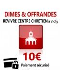 Dîmes & Offrandes 10€