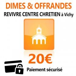 Dîmes & Offrandes 20€