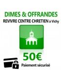 Dîmes & Offrandes 50€