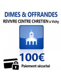 Dîmes & Offrandes 100€